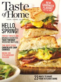 March 13, 2019 issue of Taste of Home