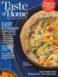 July 31, 2019 issue of Taste of Home