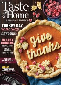 October 01, 2020 issue of Taste of Home