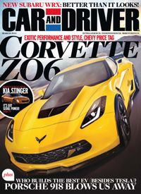 March 01, 2014 issue of Car and Driver