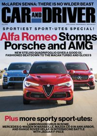 June 30, 2018 issue of Car and Driver