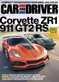 July 31, 2018 issue of Car and Driver