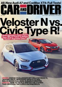 November 30, 2018 issue of Car and Driver