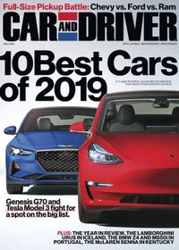 December 31, 2018 issue of Car and Driver