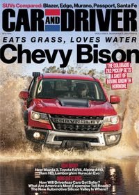 March 31, 2019 issue of Car and Driver