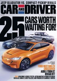 April 30, 2019 issue of Car and Driver