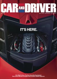 August 31, 2019 issue of Car and Driver