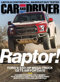 February 01, 2017 issue of Car and Driver