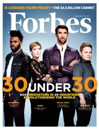 January 24, 2017 issue of Forbes