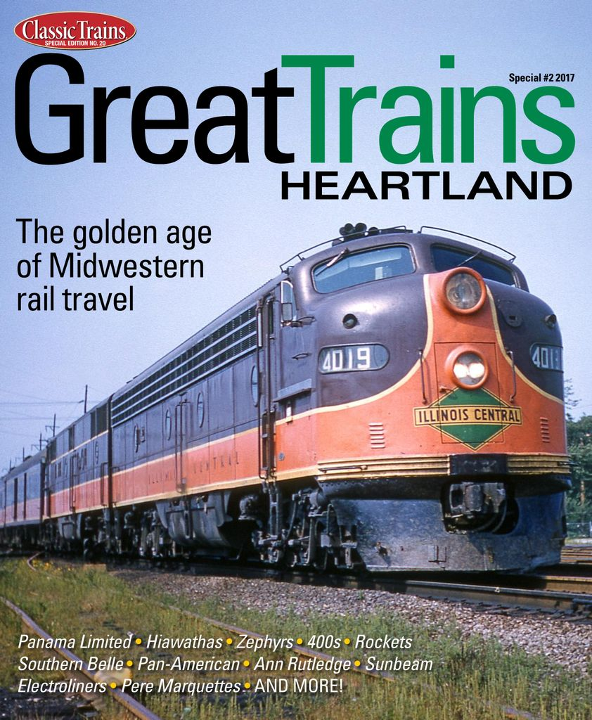 Great Trains Heartland - Issue Subscriptions
