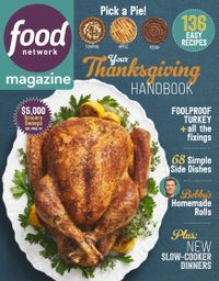 October 31, 2018 issue of Food Network Magazine