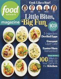 March 31, 2019 issue of Food Network Magazine