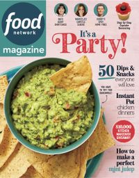 April 30, 2019 issue of Food Network Magazine