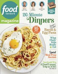 August 31, 2019 issue of Food Network Magazine