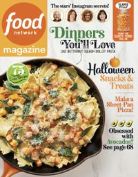September 30, 2019 issue of Food Network Magazine