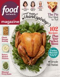October 31, 2019 issue of Food Network Magazine