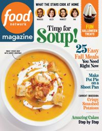 October 01, 2020 issue of Food Network Magazine