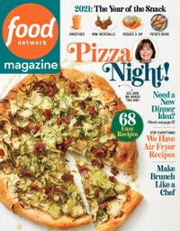 January 01, 2021 issue of Food Network Magazine