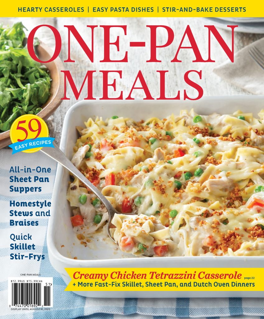 One-Pan Meals 2020