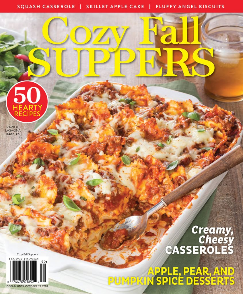 Cozy Fall Suppers 2020