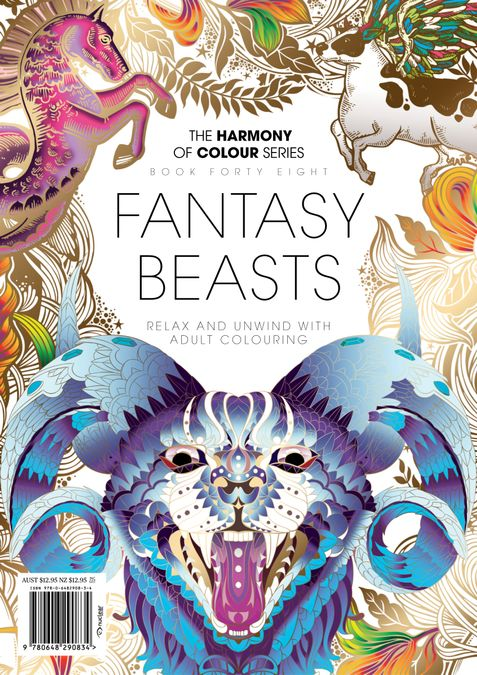 Colouring Book: Fantasy_Beasts