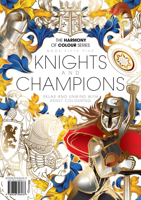 Colouring Book: Knights and Champions