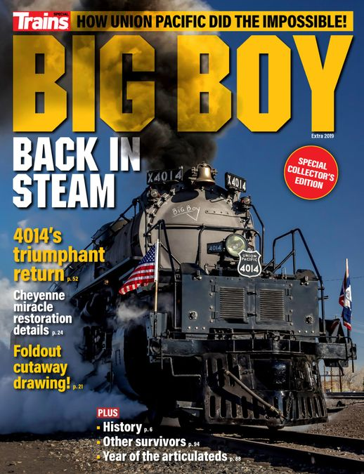 Big Boy Back in Steam