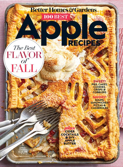 Better Homes & Gardens 100 Best Apple Recipes