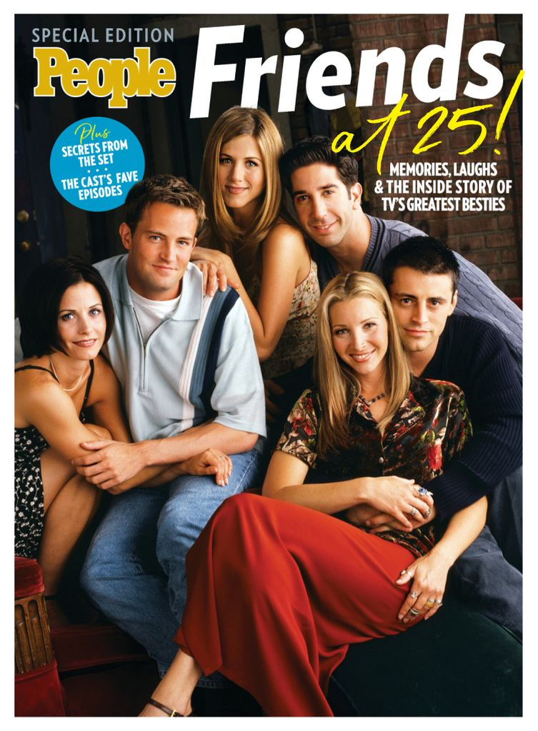 PEOPLE FRIENDS AT 25!  Magazine