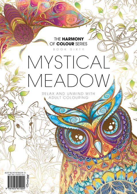 Colouring Book: Mystical Meadow