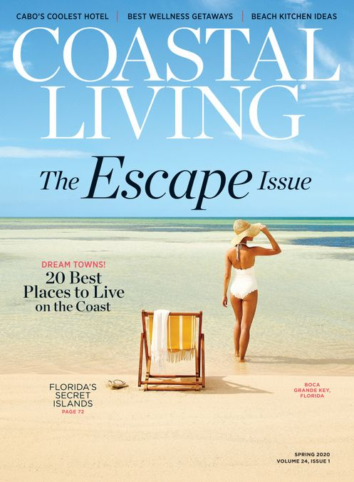 Coastal Living Spring The Escape Issue