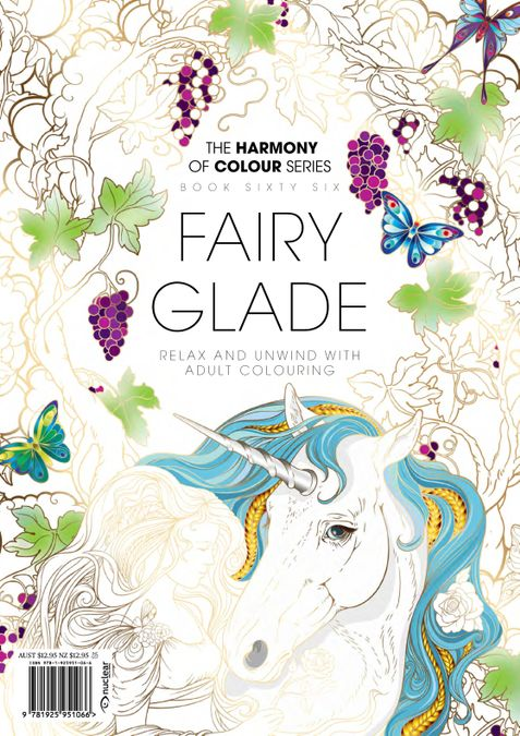 Colouring Book: Fairy Glade