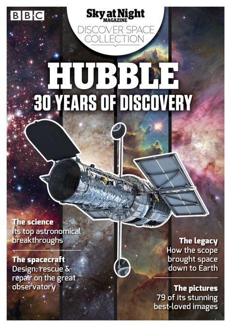 Hubble 30 Years of Discovery from BBC Sky at Night Magazine