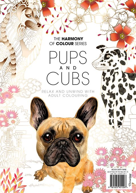 Colouring Book: Pups and Cubs