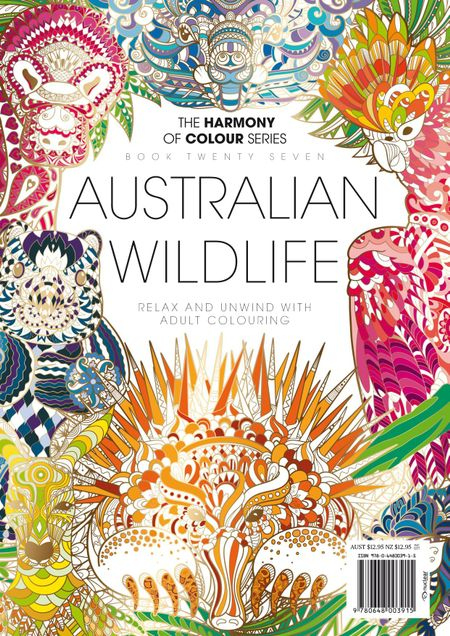 Colouring Book Australian Wildlife