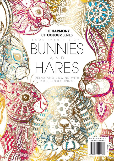 Colouring Book: Bunnies and Hares