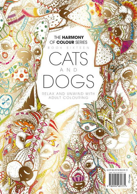 Colouring Book: Cats and Dogs