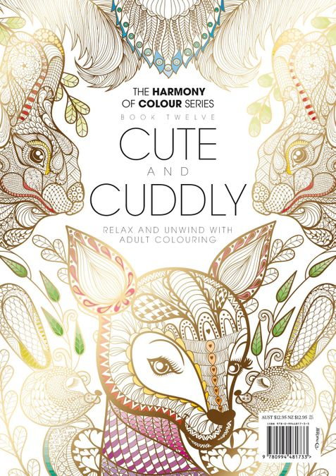 Colouring Book: Cute and Cuddly