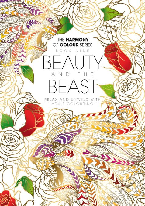 Colouring Book: Beauty and the Beast
