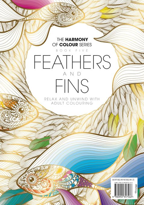 Colouring Book: Feathers and Fins