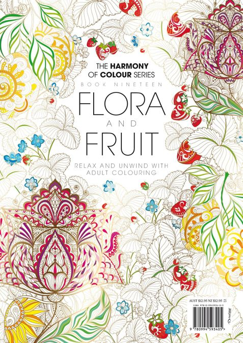 Colouring Book: Flora and Fruit