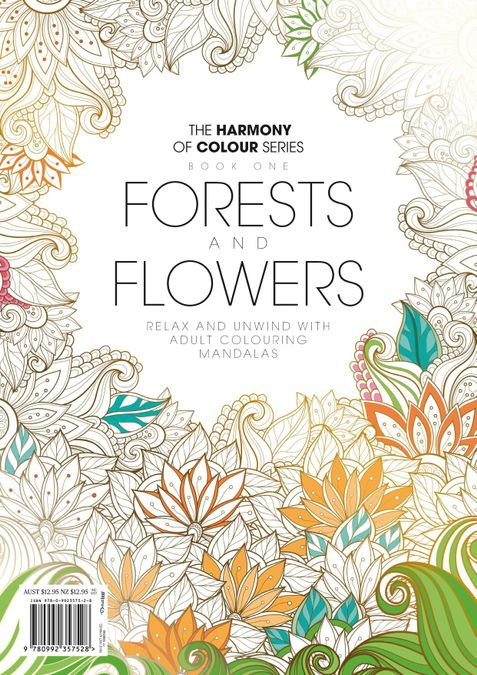 Colouring Book: Forests and Flowers