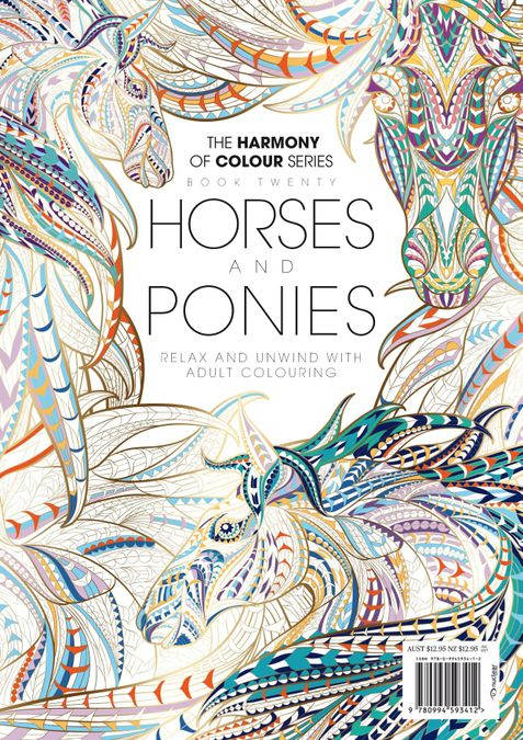 Colouring Book: Horses and Ponies