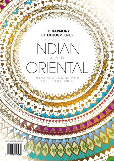 Colouring Book: Indian and Oriental