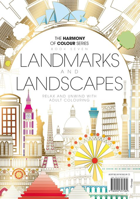 Colouring Book: Landmarks and Landscapes