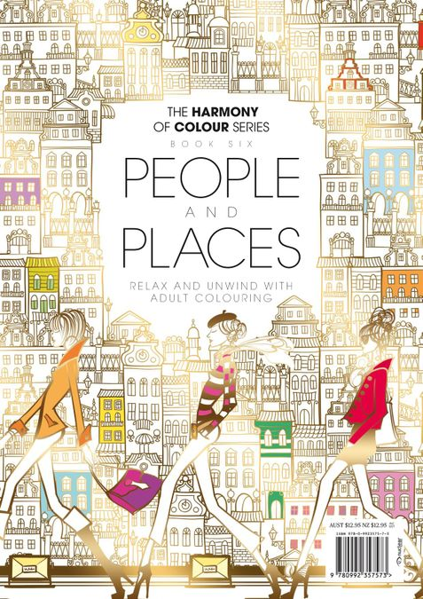 Colouring Book: People and Places