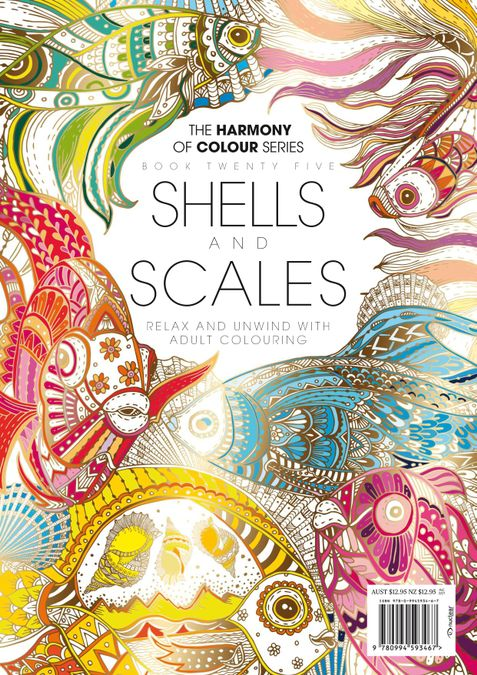 Colouring Book: Shells and Scales