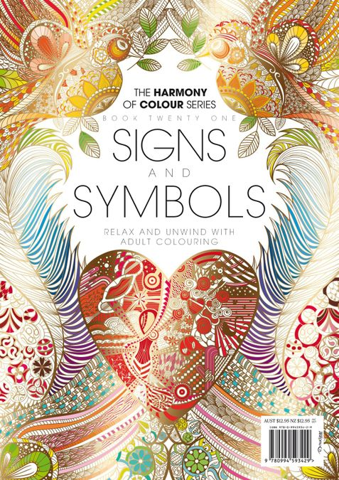 Colouring Book: Signs and Symbols