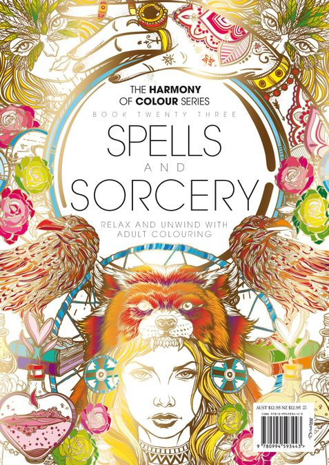 Colouring Book: Spells and Sorcery