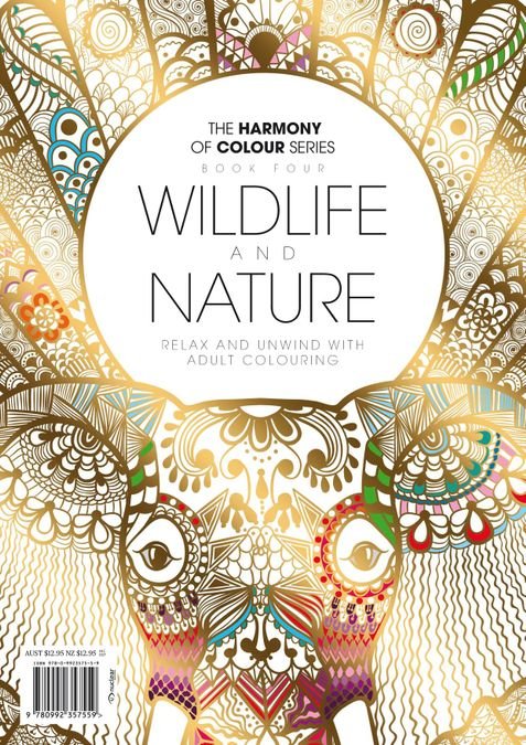 Colouring Book: Wildlife and Nature